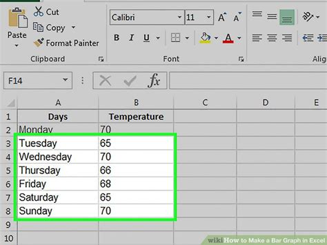 Make Graphs In Excel How To Make A Bar Graph In Excel 10 Steps With Pictures