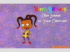 Cree Summer's Birthday Celebration | HappyBday.to Kadeem Hardison Now