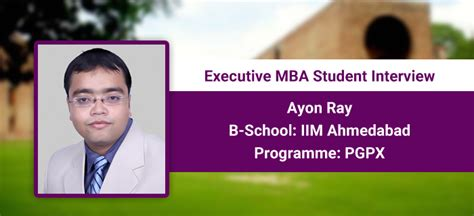 Iim A Executive Mba Student Profile by The Programme Provides Much Needed Industrial And