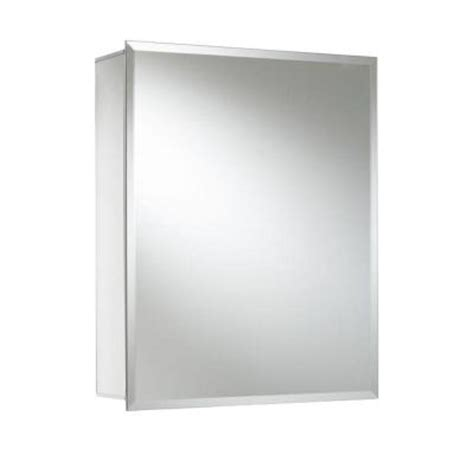 croydex 20 in x 16 in recessed or surface mount medicine