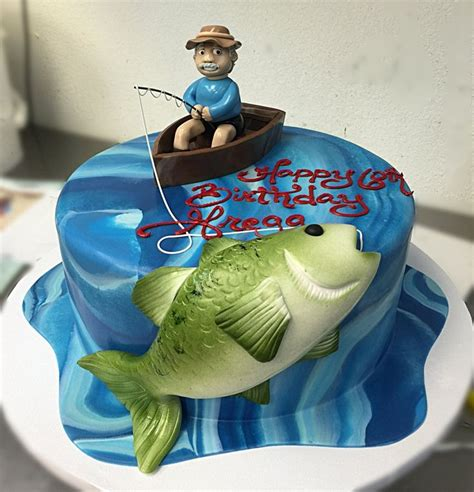 how to make a fishing boat cake topper 17 best ideas about fishing cakes on pinterest fishing