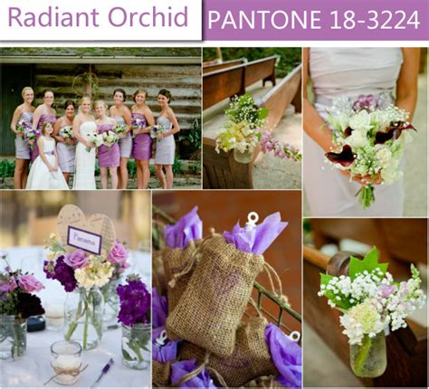 rustic radiant orchid purple wedding ideas for 2014 spring