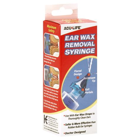 Home Ear Wax Removal by Ear Wax Removal 01c Syringe