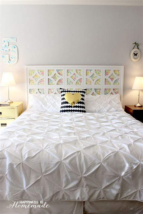 cheap diy headboard 25 cheap and chic diy headboard ideas
