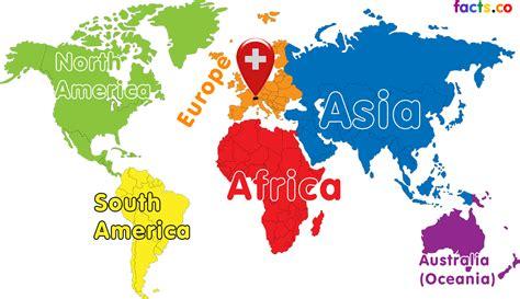 switzerland map in world map switzerland map in world
