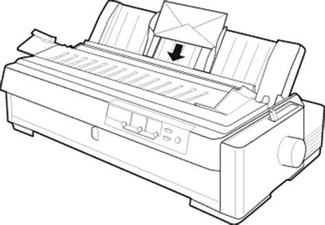 Knop Lq 2190 speciaal papier laden