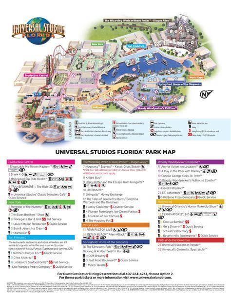 List Universal 1 popular 201 list universal studios park map
