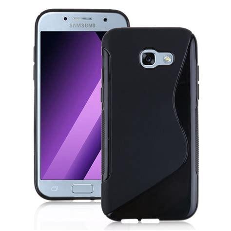 Spigen Samsung Galaxy A7 2017 A720 כיסוי tpu s line בצבע שחור לסמסונג גלקסי a7 2017 galaxy