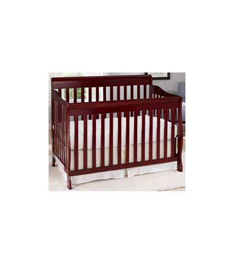 Convertible Crib Cherry Big Oshi Stephane 4 In 1 Convertible Crib In Cherry