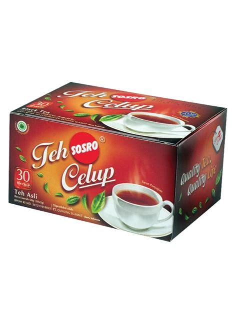 Cooler Boxbox Minuman Sosro sosro teh celup black tea box 30x2g klikindomaret