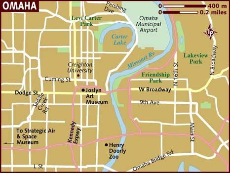omaha usa map map of omaha