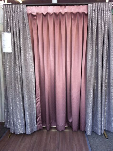 box pleat curtains reverse box pleat double liteban track gympie curtains