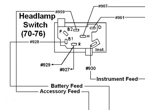 headlight switch wiring 23 wiring diagram images