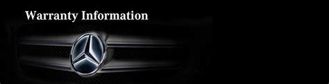 mercedes warranty information warranty information mercedes of athens