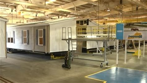 champion opens  sqft manufactured home plant
