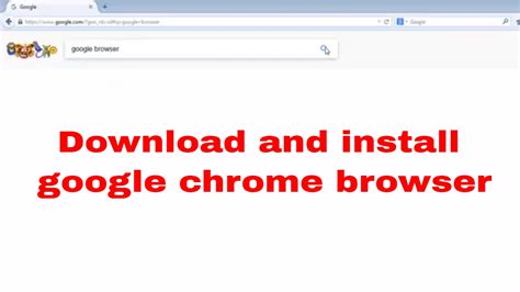 download and install google chrome google supporthttpssupport google comchromeanswer95346cogenie platform google chrome is a fast free web browser get google chrome download chrome for windo how to download and install google chrome browser from
