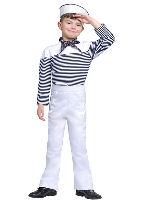 Sailor Boy vintage sailor costume for boys