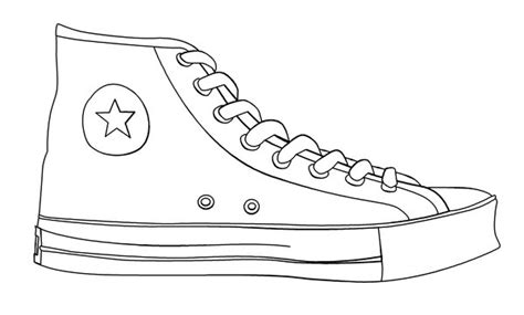 shoe template how to draw shoe outline