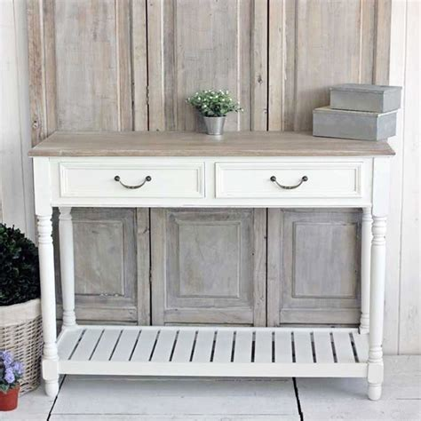 White Console Table White Console Table Bliss And Bloom Ltd