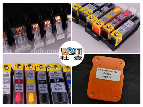 Fast Print Chip Pisah Autoreset Canon Ip3600 1 Set for canon pgi 220 cli 221 refillable ink cartridge for canon pxima ip3600 ip4700 u s a buy