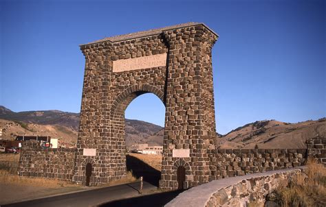 roosevelt arch yellowstone s photo collection