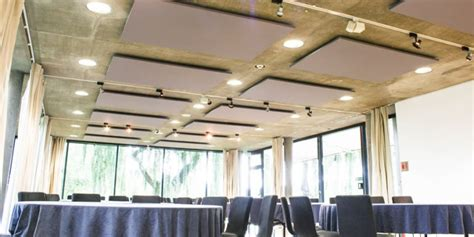 Suspended Acoustic Ceiling Panels by Acoustic Projects Complete In Different Buildings Companies