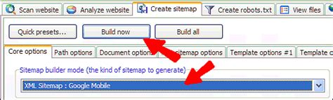mobile sitemap create mobile sitemaps with xml sitemap generator