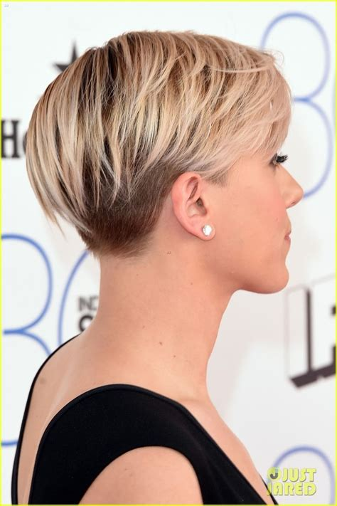 why johansson cut hair 17 best images about cool short hairstyles on pinterest