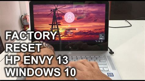 reset hp laserjet p1102w factory default how to restore reset a hp envy 13 to factory settings