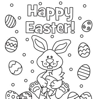coloring pages easter pdf happy easter eggs free n easter from trading