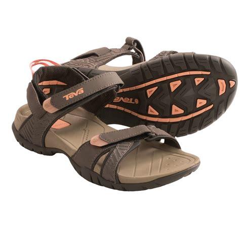 teva numa womens sandals teva numa print sport sandals for in brown