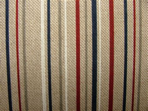 Nautical Patchwork Fabric - nautical range ticking stripe linen look fabric curtains