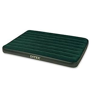 Battery Air Mattress by Intex Prestige Downy Airbed Kit With Held Battery Cing Air