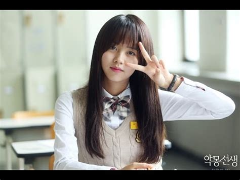 kim so hyun and bts kshyunvn quot nightmare teacher quot bts 1 with kim so hyun