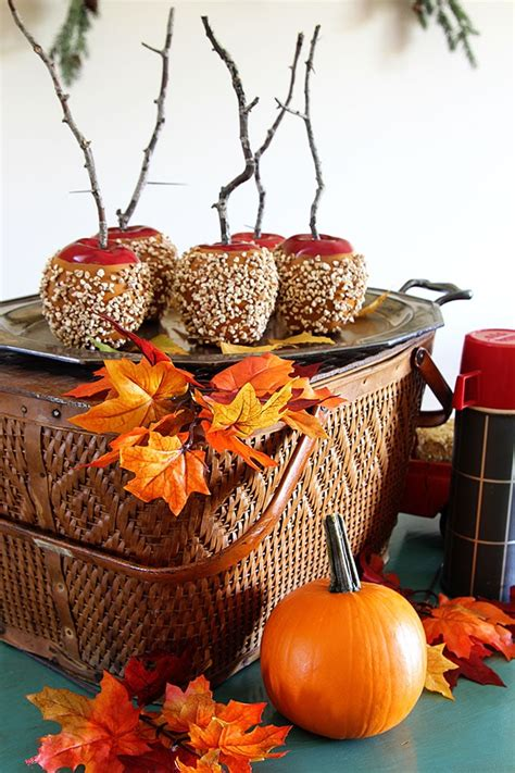 cheap fall decorations for home a touch of fall home tour house of hawthornes