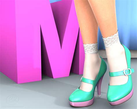 Meyligan Shoes 1 melian s shoe spectacular 1 platform janes by williamrumley on deviantart
