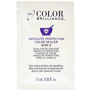 ion color brilliance absolute perfection color sealer step 2 reviews absolute perfection step 2 color sealer colors hair and