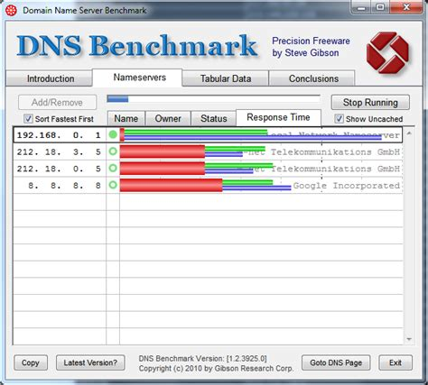 dns bench langsame dns server aufsp 252 ren mit dns benchmark windowspro