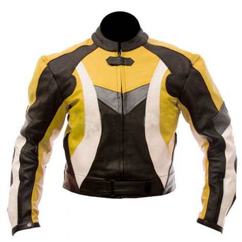yellow motorcycle jacket yellow black combination biker jacket leather jackets usa