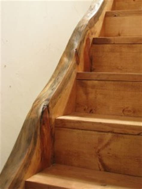 Houses With Stairs live edge stairs sticks amp stones construction llc