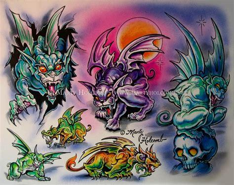 gargoyle by artistic tattooing on deviantart