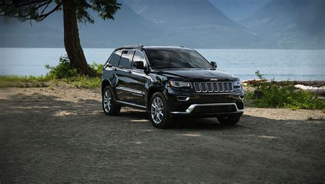 jeep cherokee black 2016 options options the five jeep grand cherokee model offerings