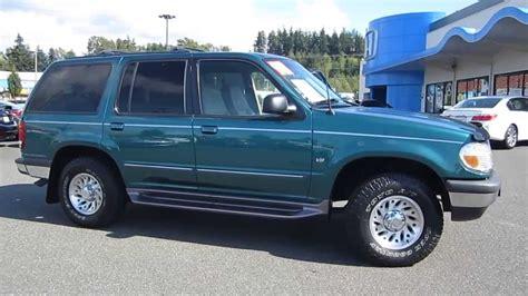 1998 ford explorer 1998 ford explorer green stock 6537g walk around