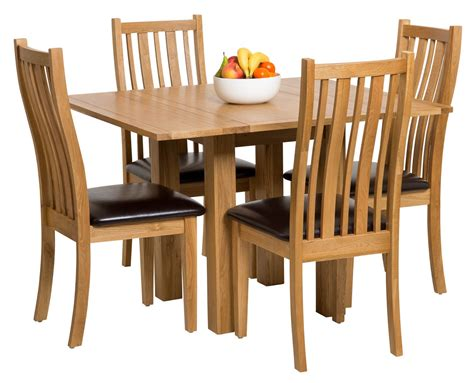 Small Folding Dining Table Waverly Oak Small Extending Table With Folding Leaves Hallowood