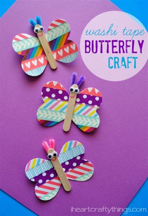 butterfly craft ideas for 78 best washi ideas diy projects for