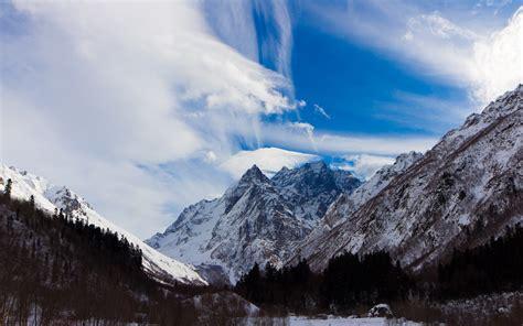 caucasus mountains wallpaper