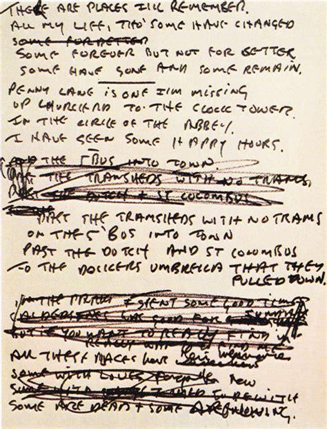 my lyrics original the beatles rev brent l white