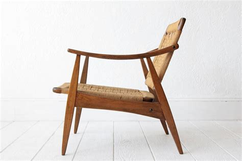 Rope Chair by Hans Wegner Style Woven Rope Chair At 1stdibs