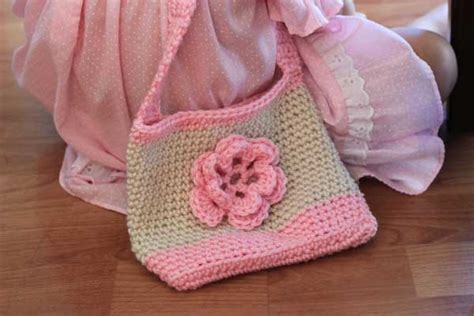 crochet pattern child purse easy crochet patterns for kids crochet and knit