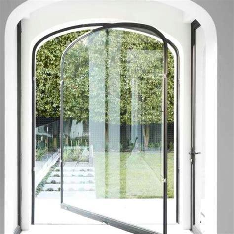Arch Glass Door Glasses Doors And Tops On